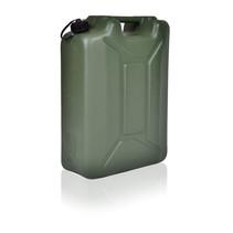 Leger Jerrycan met UN markering voor vloeistoffen met draaikap 20L