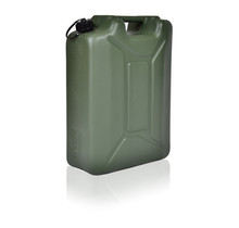 Army Jerrycan with UN markings for liquids with truning cap 20L