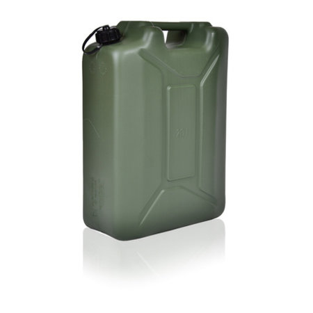SalesBridges Army Jerrycan with UN markings for liquids with truning cap 20L