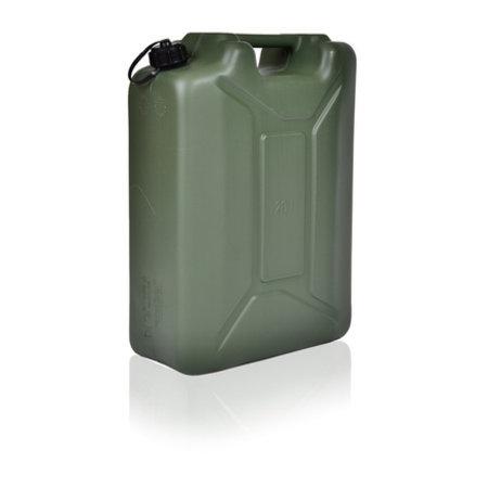 SalesBridges Leger Jerrycan met UN markering voor vloeistoffen met draaikap 20L