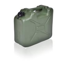 Leger Jerrycan met UN markering voor vloeistoffen met draaikap 10L