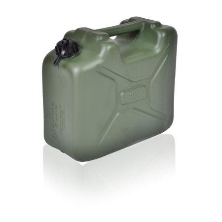 SalesBridges Leger Jerrycan met UN markering voor vloeistoffen met draaikap 10L