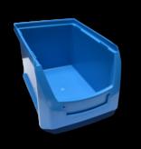 SalesBridges Bac à bec en plastique pour magasin PP B  23x15x12.cm Bleu en plastique