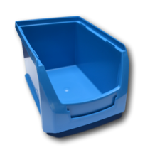 Magazijnbak Kunststof B PP 23x15x12.5cm  Blauw