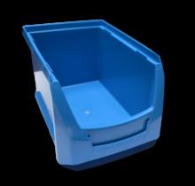 Magazijnbak Kunststof Grijpbakken B PP 23x15x12.5cm  Blauw