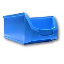 Benne en plastic pour magazin PP A  51x31x20cm Bleu