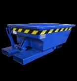 SalesBridges Benne basculante hauteur réduite 150L chariot élévateur