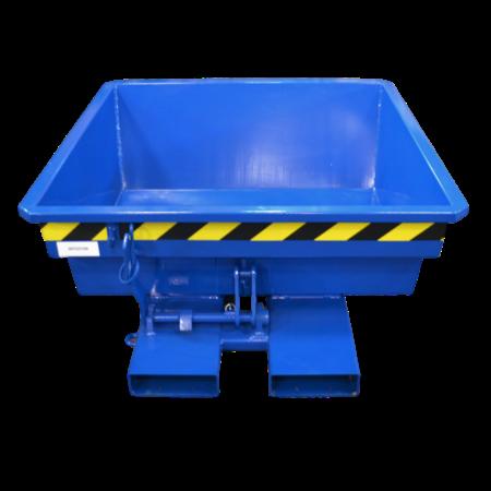 SalesBridges Mini Kantelbak 250L Mini Kiepbak  Laag model geschikt voor heftruck