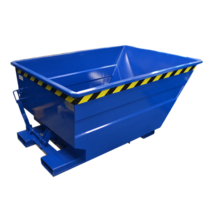 Chip Container 750L Tipper Container UC-model for forklift