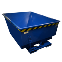 Chip Container 1000L Tipper Container UC-model for forklift