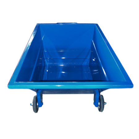 SalesBridges Chip Container 1000L with wheels Tipper Container CW-model