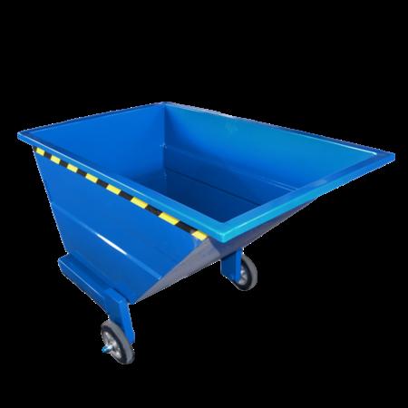 SalesBridges Chariot-benne basculant 1000L sur 3 roues usage manuel