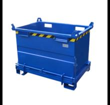Onderlosser 1500L met Hijsogen Bodemklep Container Voor Heftruck en Kraan BB-model