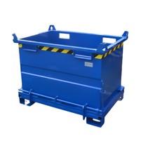 Onderlosser 1300L met Hijsogen Bodemklep Container Voor Heftruck en Kraan BB-model