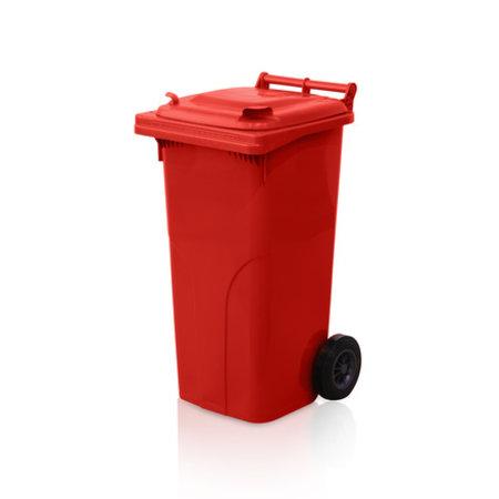 SalesBridges Minicontainer benne plastic 120L rouge