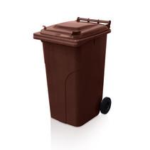 Minicontainer benne plastic 240L maron