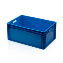 Eurobox Universal 60x40x27 cm blue closed handle Eurocontainer KLT box