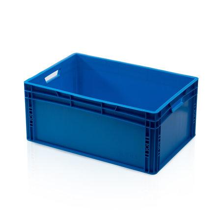 SalesBridges Bac de rangement  60x40x27 cm conteneur en plastique Bleu