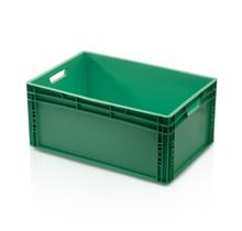 Eurokrat Universeel  60x40x27 groen Euronorm Bakken Eurobox KLT box