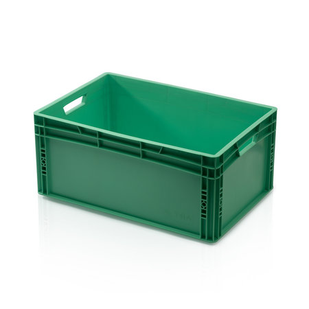 SalesBridges Eurobox Universal 60x40x27 cm green closed handle Eurocontainer KLT box