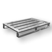 Aluminium Pallet euronorm 800x1200x150mm 1000kg TÜV