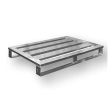 Aluminium Pallet euronorm 800x1200 mm hoogte 150 mm draagvermogen 1000kg