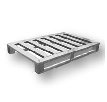 Aluminium Pallet euronorm 800x1200 x150 mm draagvermogen 1200kg