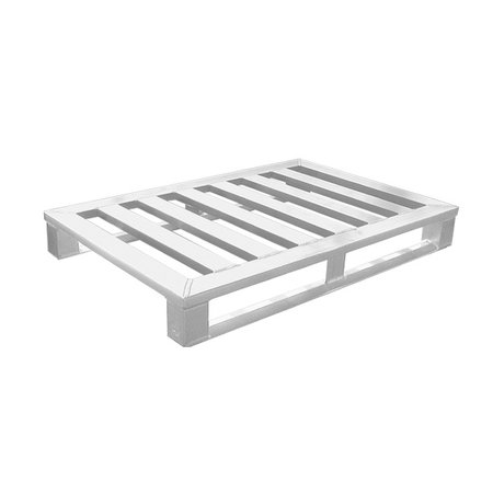 SalesBridges Aluminium Pallet euronorm 800x1200 x150 mm draagvermogen 1500kg