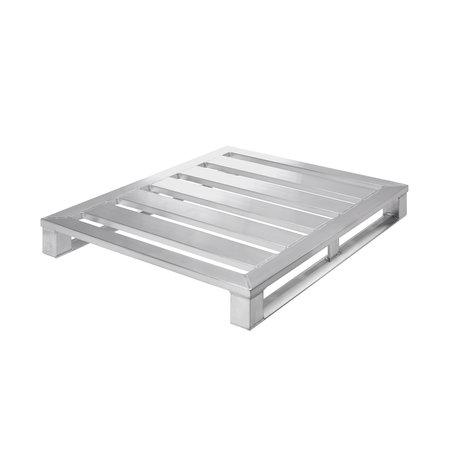 SalesBridges Aluminium Pallet 1000x1200 x150 mm draagvermogen 1500kg