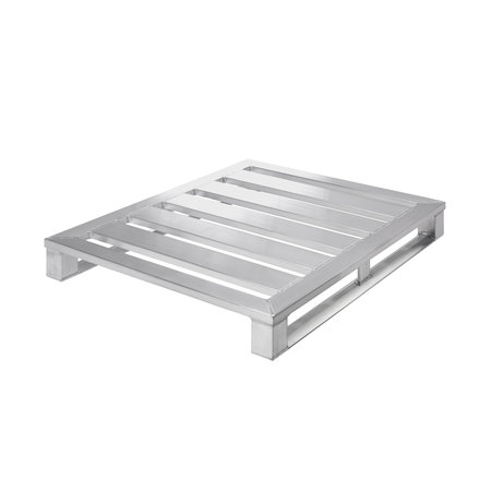 SalesBridges Aluminium Pallet 1000x1200x150 mm loadcapacity 1500Kg