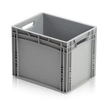 20 x Eurobox Universal 40x30x32 cm open handle Euro container KTL box Superdeal