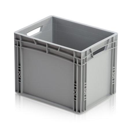 SalesBridges 20 x Eurobox Universal 60x40x32 cm open handle Euro container KTL box Superdeal