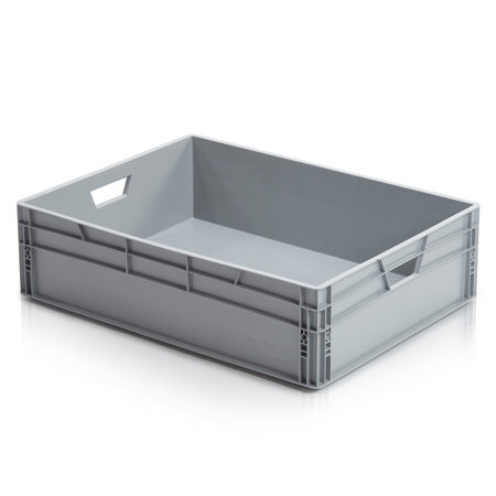 SalesBridges Eurokrat Universeel 80x60x22 cm open handvat Eurobox KLT box