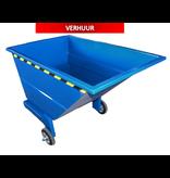 SalesBridges Chariot-benne basculant 600L sur 3 roues usage manuel LOCATION