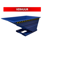Chip Container 1000L Tipper Container SC-model RENTAL