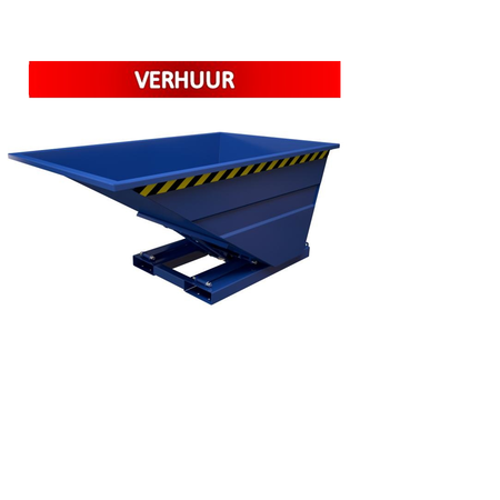 SalesBridges Chip Container 1000L Tipper Container SC-model RENTAL
