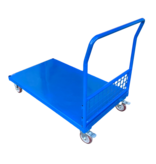 SalesBridges Container on wheels with mesh walls Mesh walls trolley 500kg low model RENTAL
