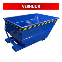 Chip Container 750L Tipper Container UC-model RENTAL