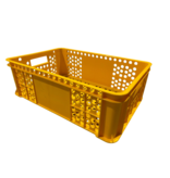 SalesBridges Eurobox for bakery perforated 60x40x20 cm