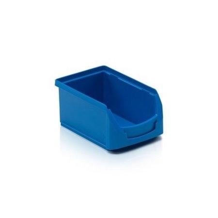 SalesBridges Magazijnbak Kunststof Grijpbakken A PP 16x10,4x7,5cm Blauw