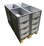 SalesBridges Eurokrat Universeel 60x40x27 Euronorm Bakken Eurobox Stapelbak KLT box Superdeal