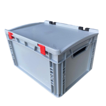 Bac de rangement 40x30x23.5 cm couvercle intégré