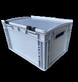 SalesBridges Eurokrat Universeel 40x30x23,5 cm met deksel Eurobox Plastic container