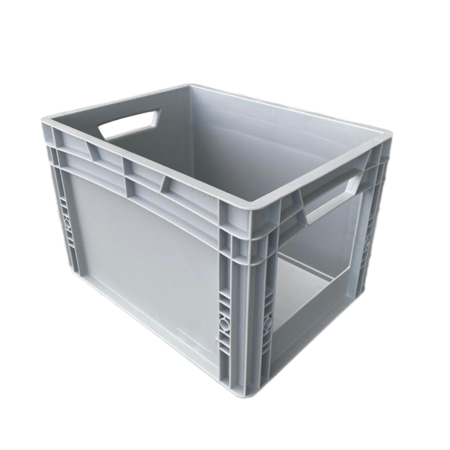 SalesBridges Eurobox Universal 40x30x27 cm with grab opening open handle Euro container