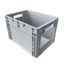 Eurobox Universal  40x30x27 cm with grab opening open handle Euro container