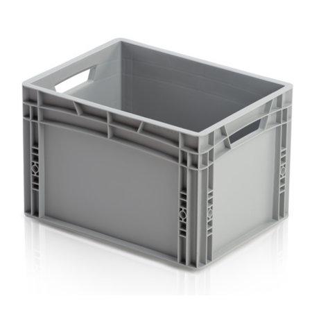 SalesBridges Plastic Crate 40x30x27 cm Eurobox  container Eurocrate Stackingcrate