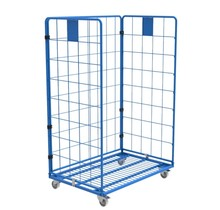 Maxi Steel Roll Container with 3 sides with powdercoating demountable (H) 1800 mm