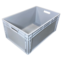 Eurobox Universal 60x40x27 cm open handle Euro container