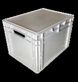 SalesBridges Bac de rangement en  plastique 40x30x27 cm superposable