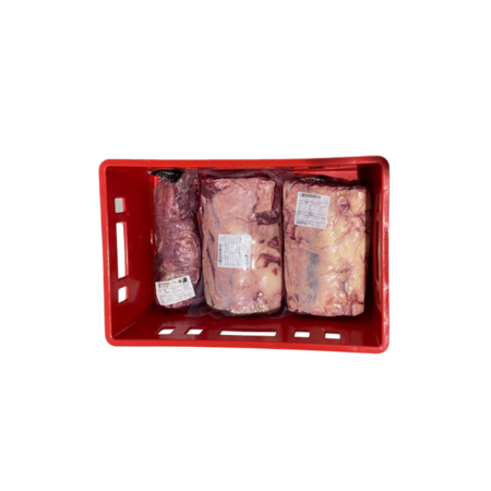 SalesBridges Krat voor vleeswaren 60x40x20 cm Euro E2 open handvat